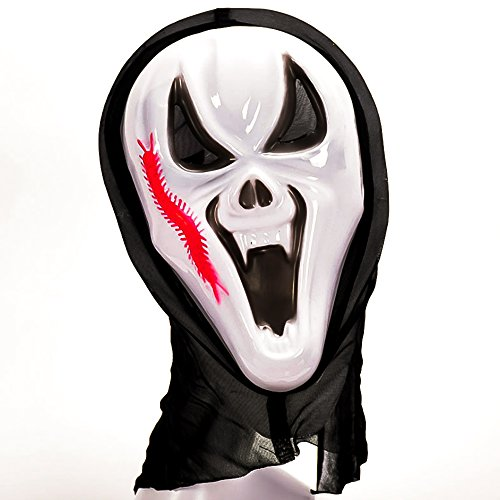 Halloween Mask | Scary Halloween Costumes | Halloween Costumes Mask for Adults | Robust Plastic Material | Waterproof | Full Face Fits Adults Heads | Realistic (Homemade Group Halloween Costume Ideas For Adults)