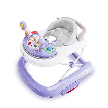 LFY Andador para bebé con música, Altura Ajustable del Asiento ...