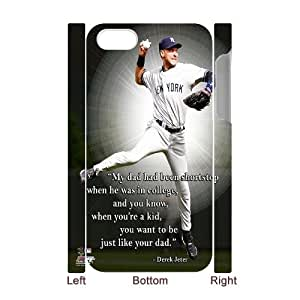LSQDIY(R) Derek Jeter iPhone 4,4G,4S 3D Case, Custom iPhone 4,4G,4S 3D Phone Case Derek Jeter