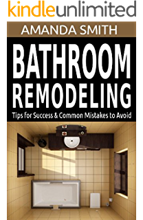 bathroom remodeling tips for success common mistakes to avoid bathroom diy series book 3 - Bathroom Remodeling Books