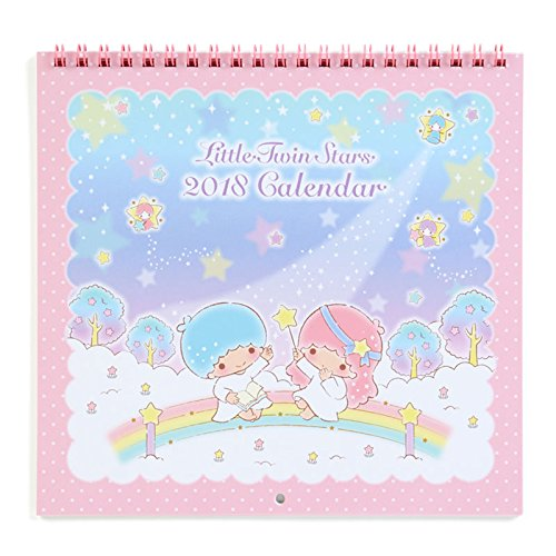 [Sanrio Little Twin Stars Wall Calendar M 2018 From Japan New] (Cat In The Hat Costume Nz)