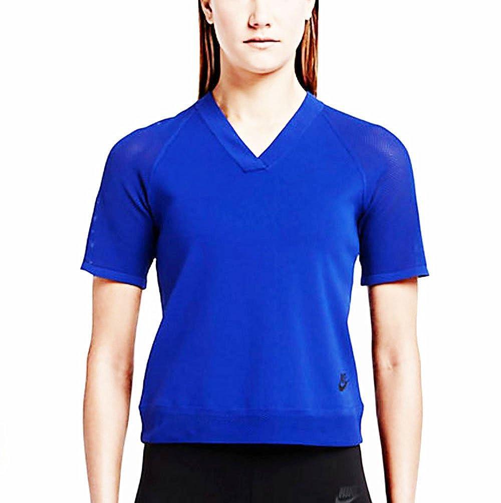 激安超安値 NikeレディースTechニットトップ Small B01AAOSCNM ブルー ブルー B01AAOSCNM Small, HEARTWAVE:6f6f19e1 --- conffianca.com