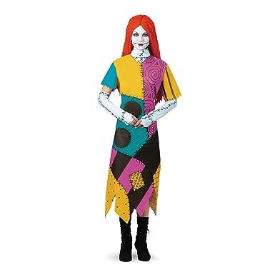 disguise womens tim burtons the nightmare before christmas sally classic costume mulit
