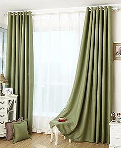 Forest Green Blackout Curtain/ Custom Made Curtains(all Size) (60u0027u0027Wx84u0027u0027L)