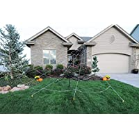 Instant Mega Web Yard Halloween Decoration