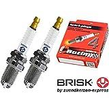 BRISK Premium Racing DOR14LGS 3025 Bujías de Encendido, 2 piezas