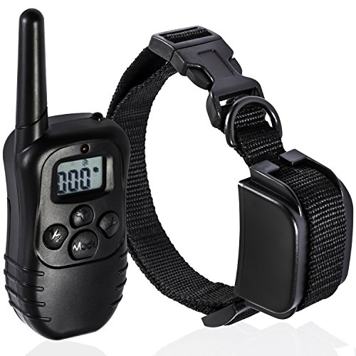 oxgord-rechargeable-waterproof-lcd-100lv-shock-remote-pet-bark-training-collar-330-yd