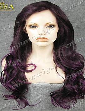 XH@G venta caliente populares peluca de encaje mano de encaje atado peluca del frente