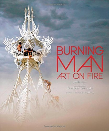 Burning Man: Art on Fire by Jennifer Raiser (2014-08-08)