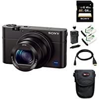 Sony DSC-RX100M III Cyber-shot Digital Camera with Sony Attachment Grip and Dual Battery Accessory Bundle Basic Facts Review Image