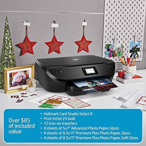 HP ENVY Photo 6255 All in One Photo Printer with Wireless Printing, Instant Ink ready (K7G18A)