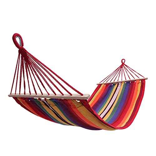 TY BEI Hammock Outdoor 1 People Portable Camping Tourism To Prevent Rollover 200×100cm by TY BEI