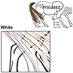 Braideez Wire Braiding Band, White
