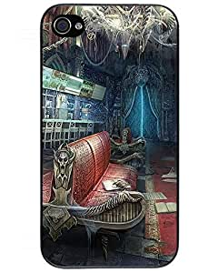 2015 iPhone 4/4s Case,PC Hard Shell Transparent Cover Case for iPhone 4/4s fear for sale 3 - nightmare cinema09 5284001ZJ608532774I4S Mary R. Whatley's Shop