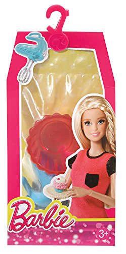 Barbie Cupcake Baking Set Doll House Accessory (Set Accessory Pack)