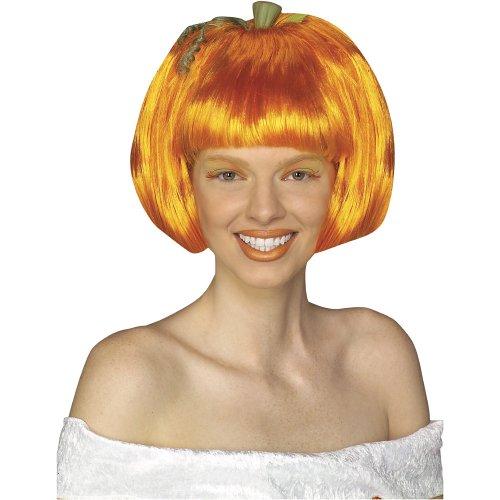 Pumpkin Spice Costume (Rubie's Pumpkin Spice Wig, Orange, One)