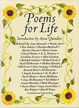Poems for Life: Famous People Select Their Favorite Poem and Say ...