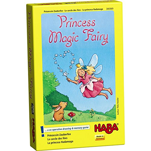 HABA Princess Magic Fairy Game - A Cooperative Drawing and Memory Game for Ages 4+ (Made in Germany) by HABA