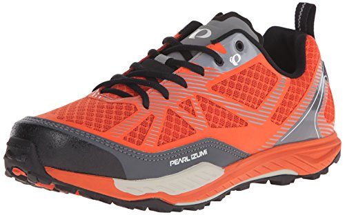 Pearl Izumi Men's X-ALP Seek VII Cycling Shoe, Red/Orange, 49 EU/14 D US