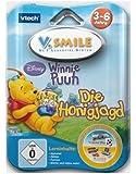 VTech 80-084384 - V.Smile Motion Jeu Winnie l'Ourson - Langue : allemand