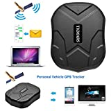 TKMARS Car Tracking Device Magnetic, Long Battery GPS Tracker for Vehicles Truck, Hidden Locator Tracker with Free Tracking Platform Online Moving Tracking Waterproof TKMARS905 …