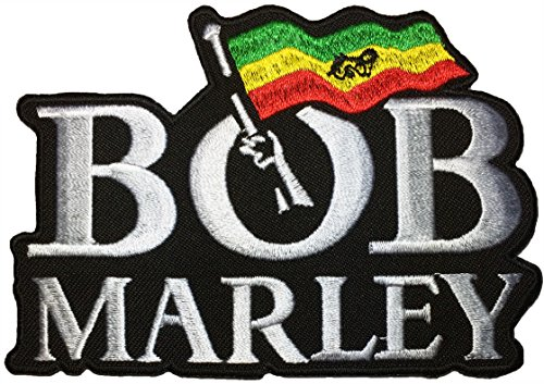[BOB MARLEY size 11 x 8cm.MUSIC Guitarist Ska Rocksteady Jacket Vest shirt hat blanket backpack T shirt Patches Embroidered Appliques Symbol Badge Cloth Sign Costume] (Ernie From Sesame Street Costume)