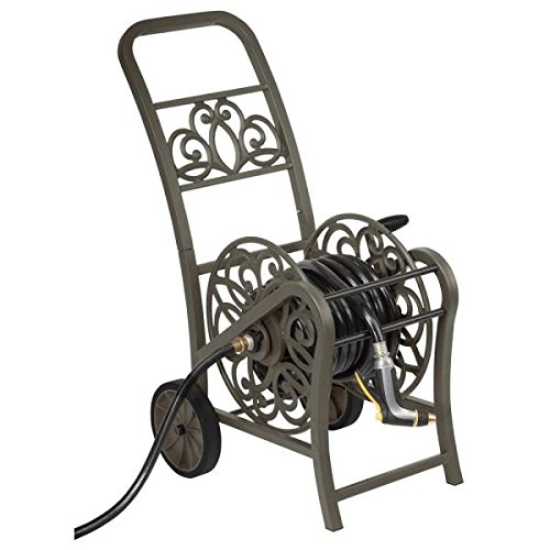Hampton Bay MDHC150HB 2-Wheel Hose Reel Cart (Wheel Reel Hose 2)