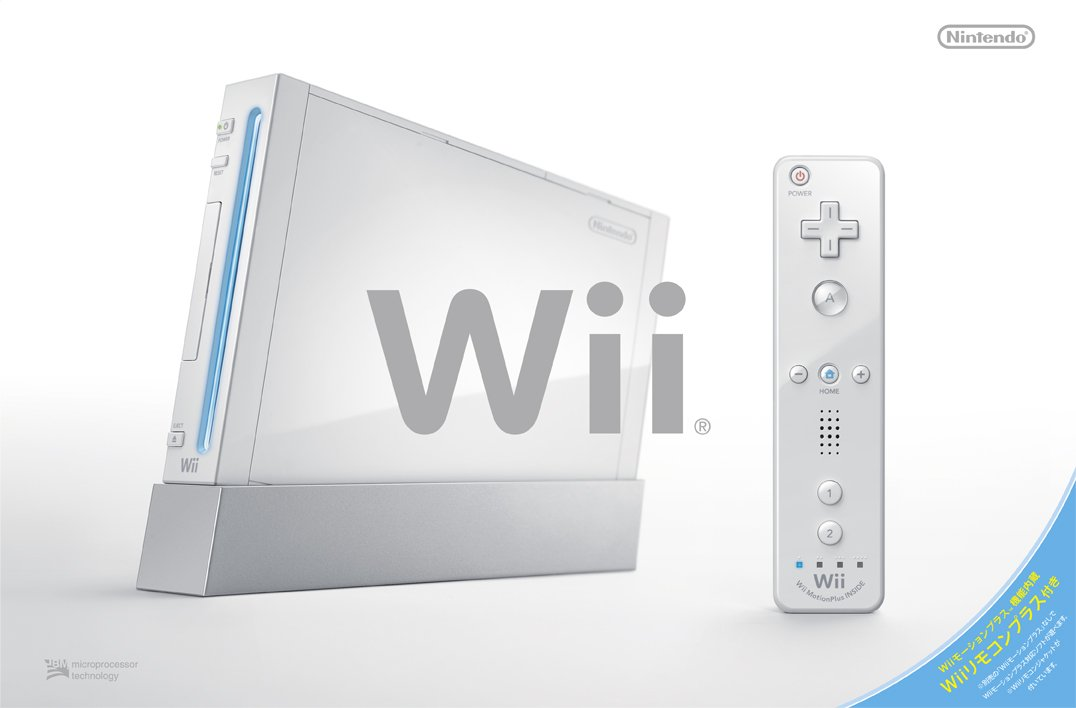 Wii Console (White) (''Wii Remote Plus'' included) (RVL-S-WAAG) [maker production end]