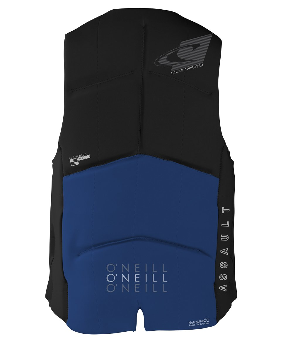 O'Neill Wetsuits Men's Assault USCG Life Vest, Pacific/Black by O'Neill Wetsuits (Image #2)