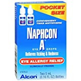 Naphcon-A Eye Allergy Relief Eye Drops, 5ml (0.16 floz), 2-Pack