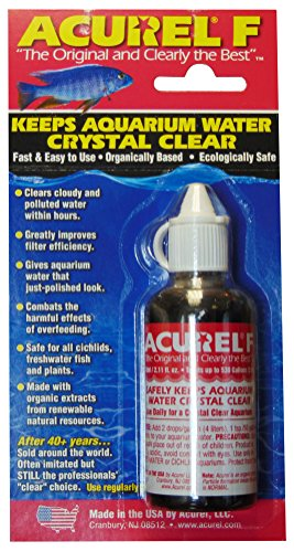 Acurel F50 Millimeter Water Clarifier, Aquarium, Treats 530 Gallons
