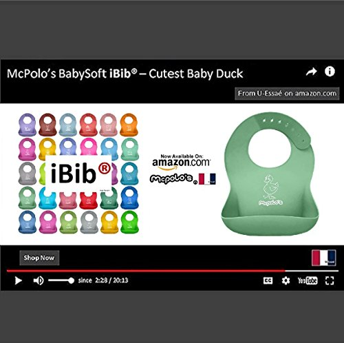 mcpolos-cutest-baby-duck-ibib-100-portable-silicone-baby-bib-waterproof-food-crumb-catcher-pocket-ul