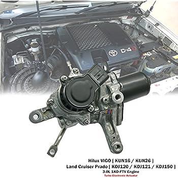 Turbo Electronic Actuator For Toyota Hilux VIGO D-4D KUN16 KUN26 1KD-FTV CT16V