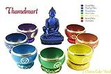 Chakra-HealingTibetan-Singing-Bowl,7-Sets-of-Meditation-Bowls-Nepal-byThamelmart