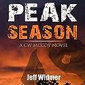 Peak Season: A CW McCoy Novel, Volume 1 Audiobook by Jeff Widmer Narrated by Pamela Almand