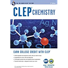 CLEP® Chemistry Book + Online (CLEP Test Preparation)