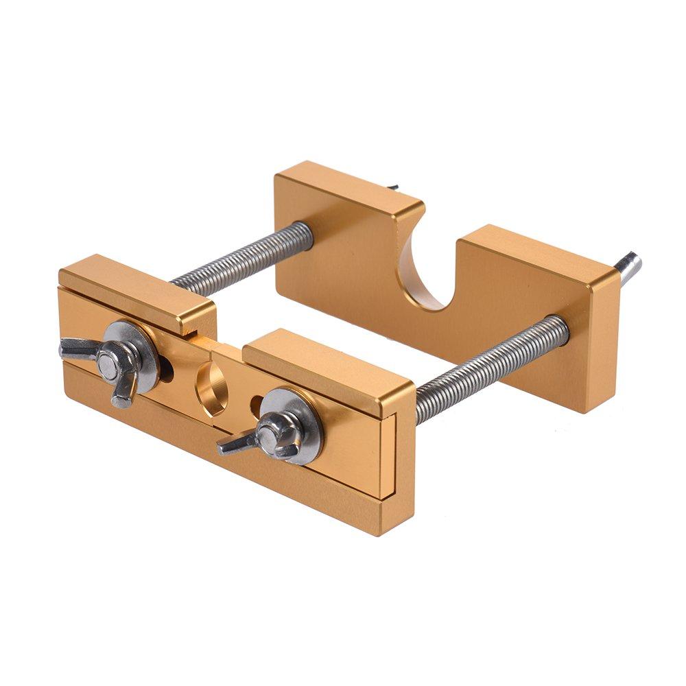 ammoon Professionelle Einstellbare Mundstück Puller-Remover-Werkzeug für Blechbläser Trompete Posaune Euphonium Horn Mundstück Silber