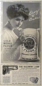 Amazon.com: Gold Medal Flour/Baldwin Carbide Lamp, 1913 Print ...