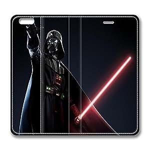iPhone 6 plus Case, 6 plus Case - Folio Flip Wallet Case Leather Bumper for iPhone 6 plus Darth Vader Luxury Leather Ultra Slim Fit Case for iPhone 6 plus 5.5 Inches