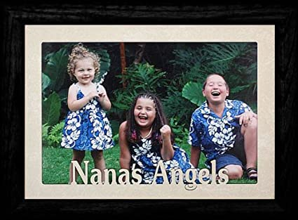 Amazon.com: 5 x 7 JUMBO ~ Nana s Angels ~ horizontal marco ...