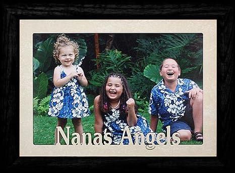 Amazon.com: 5 x 7 JUMBO ~ Nana s Angels ~ horizontal marco ...