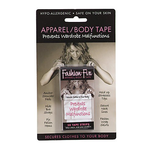 Fashion Fix Professional Apparel and Body Tape - Travel Pack - 100 Tape Strips