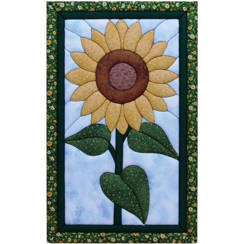 Quilt Magic 12-Inch by 19-Inch Sunflower Kit