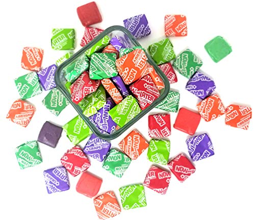 CrazyOutlet Pack - Now and Later Original Taffy Chews Candy, Long Lasting Assorted Fruit Chews, 5 lbs