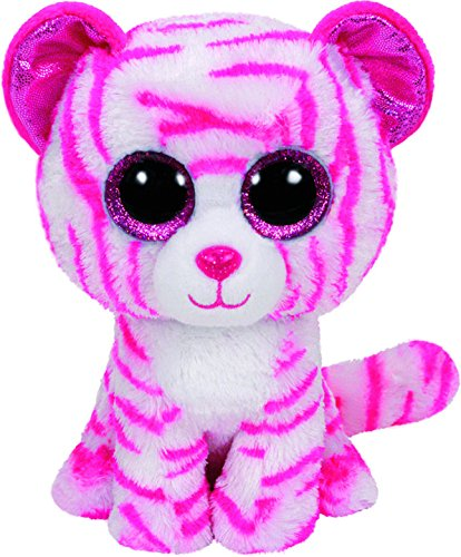 Amazon.com: PELUCHE BEANIE BOOS 23CM ASIA WHITE AND PINK ...