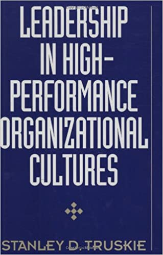 Book Leadership in High-Performance Organizational Cultures