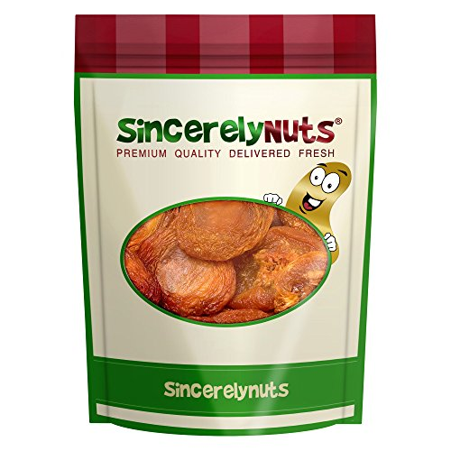 Price comparison product image Sincerely Nuts Dried Nectarines - Five Lb. Bag - Irresistibly Tasty - Soft & Fresh - Brimming with Healthy Goodness - Kosher Certified