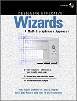 Designing Effective Wizards: A Multidisciplinary Approach