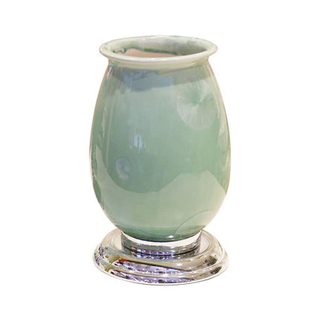 LIULIJUN リビングルームヨーロッパ花瓶装飾ホームアクセサリーリアルフラワーセットモデルルームワインキャビネットポーチ装飾 B07T45S1XG