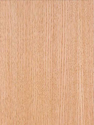 Wood Veneer, Oak, Red Rift, 2x8, PSA Backed - Oak Hardwood Veneer